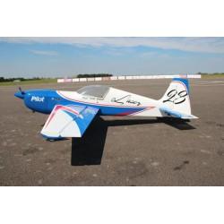 "Plane PILOT RC LASER 88 ""(2,24 M) KIT ARF (AZUL)"