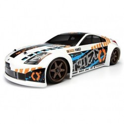 SPRINT 2 DRIFT WITH NISSAN 350Z BODY RTR HPI RACING