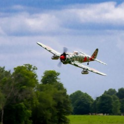 "Ki-43 Oscar 50-60cc ARF, 88"" Hangar 9"