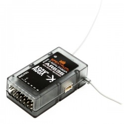 Receptor SPEKTRUM AR636 6ch Sport AS3X DSMX 2.4 GHz