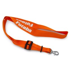 Neck strap Orange 1-point Orange/white FUTABA