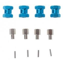 Extensores de eixo Crawler aumenta 15mm cor azul