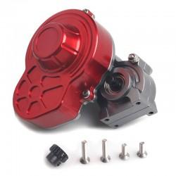 Caixa de engrenajem redutora completa em metal e montado Axial e RGT