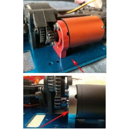Suporte de motor conversão de carro nitro 1/10 para carro eléctrico