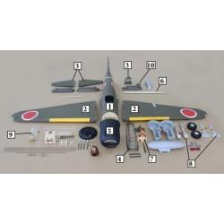 Zero A6M (50-60cc) 2184mm ARTF Seagull