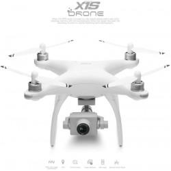 Drone brushless con GPS Wltoys X1S Pro c/ FPV Wifi 5G camara 4K c/ gimbal 2 eixos + Bateria extra