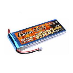 Bateria Gens Ace 2500mAh 25C 7.4V