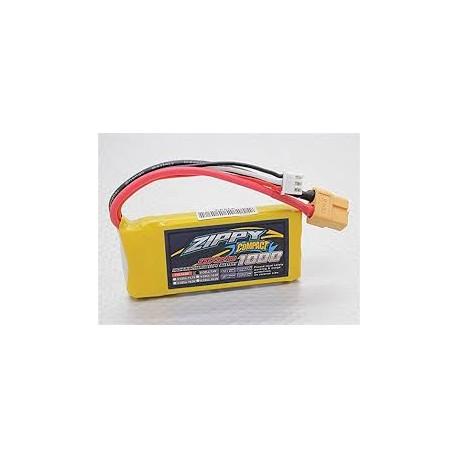 Bateria Lipo  Zippy 1000mAh 2S 25C