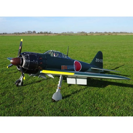 Zero Fighter A6M52 (236cm, 12kg, 60cc) TOPRC Model