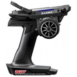 Sanwa M17 Radio + 2x RX-493 Receiver E Preinstalled Battery