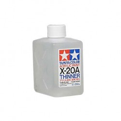 Tamiya X-20A Acrylic Thinner-250ml