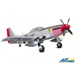 Arrows RC - P-51 Mustang - 1100mm - PNP - w/ Electric Retracts