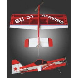 Avião Sukoi SU31 Electric 3D Great Planes 1000mm