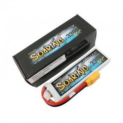 Bateria Gens ace Soaring 3300mAh 7.4V 30C 2S1P Lipo Battery Pack with XT90 plug
