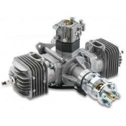 Motor Bicilindrico DLE40 +Ignição