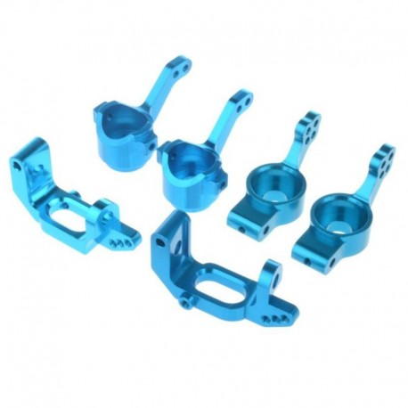 Conjunto de peças upgrade aluminio AZUL 02013 02014 02015 102010 102011 102012