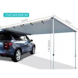 Car Side Roof Top Waterproof Tent 250x300