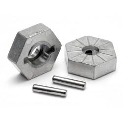 Hex Wheel Hub 17mm(siver) Savage X