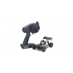MINI-Z MB010 4WD 1/24 INFERNO MP9 TKI3 WHITE / BLACK - READYSET
