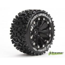 Tires ST-UPHILL SOFT FELGE SCHWARZ 1/2 OFFSET 12MM STADIUM TRUCK 2,8 LOUISE