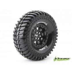 Tires CR-ARDENT 1.9 SUPERSOFT FELGE SCHWARZ 12MM CRAWLER LOUISE