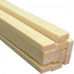 Rectângulo de Balsa 2x5x1mt