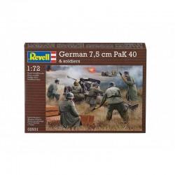 1:72 GERMAN 7,5CM REVELL