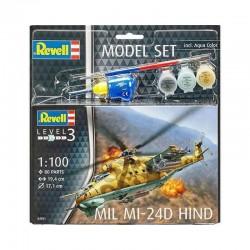 1:100 Model Set Mill Mi-24D Hind