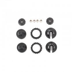 Caps & spring retainers, GTR shock