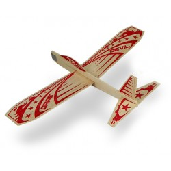 Dare Devil Balsa Glider Airplane