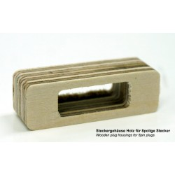 Connector housing wood(2UN)