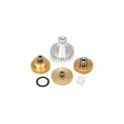 Gear set, metal (for 2085 E 2085X servos)