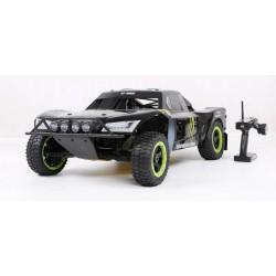 Rovan Sport 4X4 LOSI 5IVE LT360 Rally 5IVE-T Motor 36CC Transmissor RTR FS-GT3C PRETO 965mm 15Kg