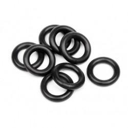 O RING 6X9,5X1,9MM (8PCS) (BLACK)