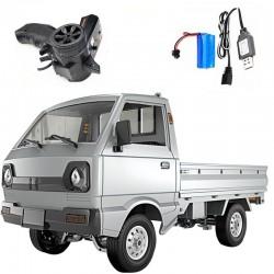 Camioneta RC SUZUKI CARR WPL D12 RTR 1/10 2.4Ghz Prata RTR
