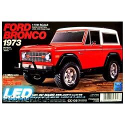 Carro Eléctrico Kit Ford Bronco 19793 1/10 Tamiya