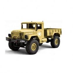 Camião Militar 1/16 FUNTECK CR4 Bege 4WD Scale