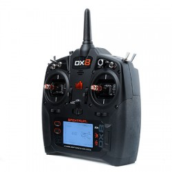 SPEKTRUM DX8 G2 8 Canais 2.4 GHz DSMX