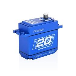 SERVO POWER HD WH20KG HOUSING ALU WATERPROOF HV (20KG/ 0.08SEC)
