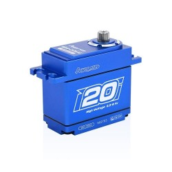 SERVO POWER HD WH20KG HOUSING ALU WATERPROOF HV (20KG / 0.08SEC)