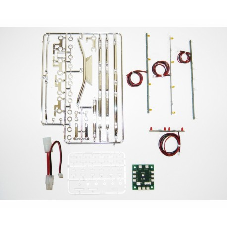 Kit de lâmpadas EU-Truck 1:14 (4) com eletrónica