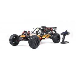 Carro Gasolina 1: 5 Baja Rovan Sports 320A,Motor 2T 32CC Orange Energy RTR Completo
