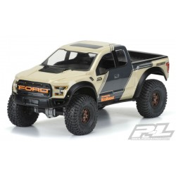 2017 FORD F-150 RAPTOR DIAMOND CLEAR FOR 12.3 (313MM) WHEELBASE SCALE CRAWLERS