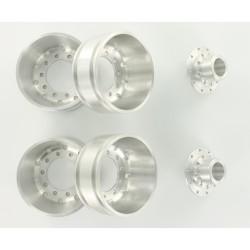 1:14 Alum. Rear wheel round hole (2)