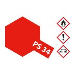 Tinta PS-34 Vermelho Brilhante (policarbonato) 100ml