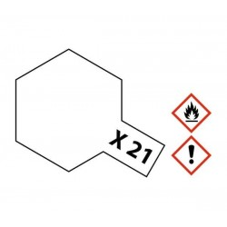 X-21 Flat Base Acrylic 23ml Tamiya