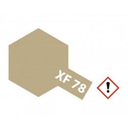 XF-78 Flat Wooden Deck Tan Acylic 10ml Tamiya