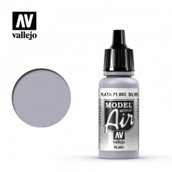 RLM01 Silver Metal 17ml Vallejo