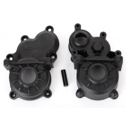 Gearbox halves (front & rear)/ idler gear shaft
