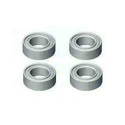 Ball bearing, 4x7x2.5, R30, R50, 4 units